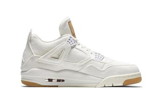 cheaper 78fe1 4fc55 Levi s x Nike Air Jordan 4 White  Release Date, Price   More Info