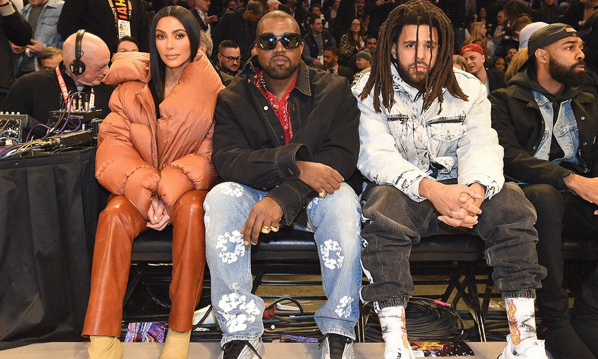 Kanye's All-Star Fit Has Graphic Denim on Our Agenda