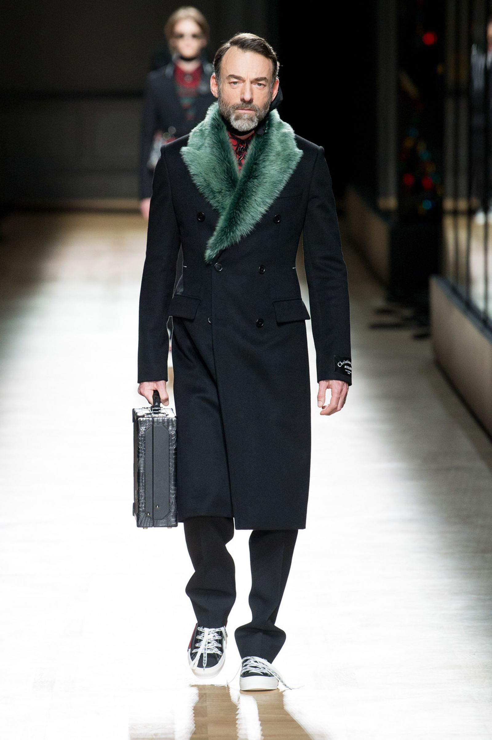 DIOR HOMME WINTER 18 19 BY PATRICE STABLE look14 Fall/WInter 2018 runway
