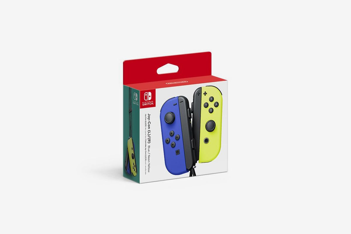 """Nintendo Finally Hops on the """"Frozen Yellow"""" Wave With New Joy-Con Colors"""