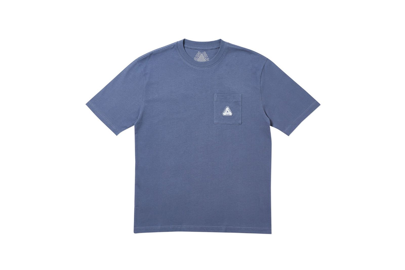 Palace 2019 Autumn T Shirt Pocket blue