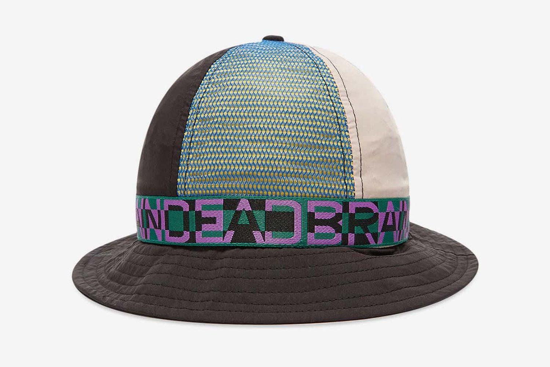 Nigel Colour Blocked Bell Bucket Hat