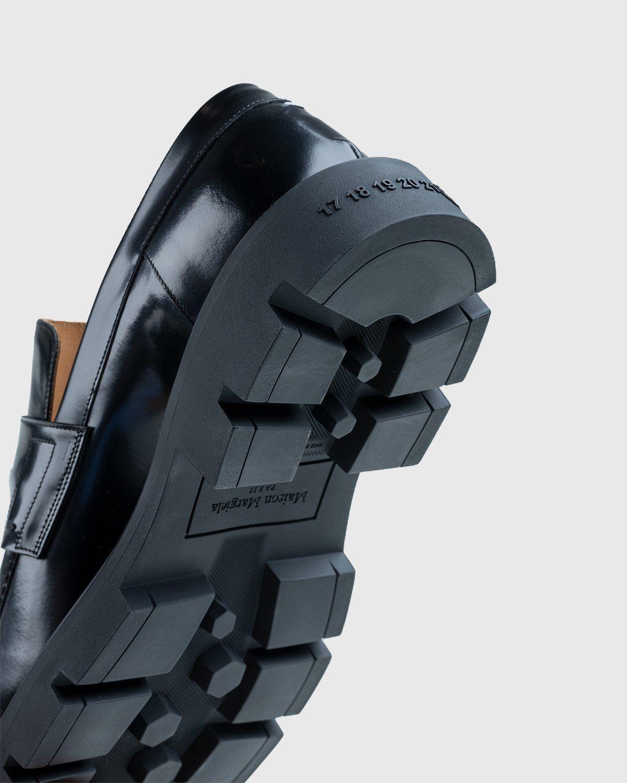 Maison Margiela – Leather Loafers Black - Image 6