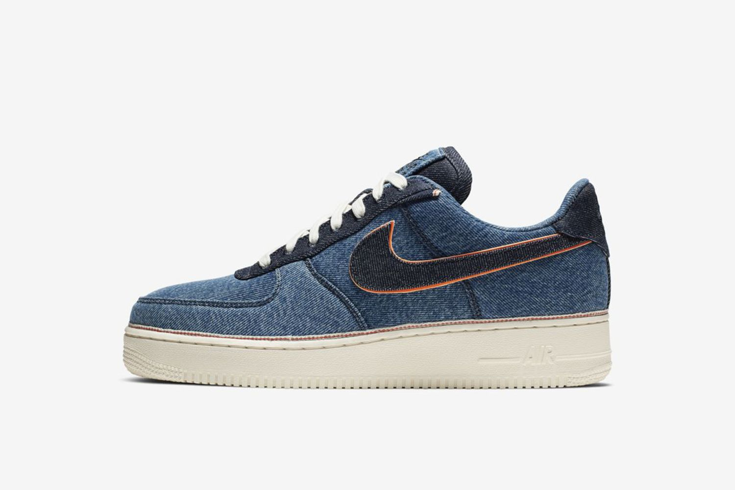 "Air Force 1 ""Stonewash Blue"""