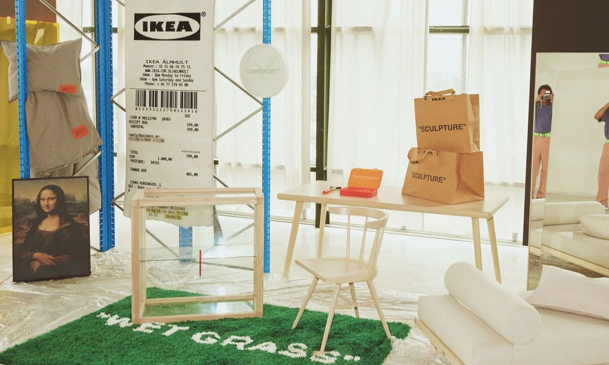 Virgil Abloh X Ikea S Markerad Collection Is Dropping Today