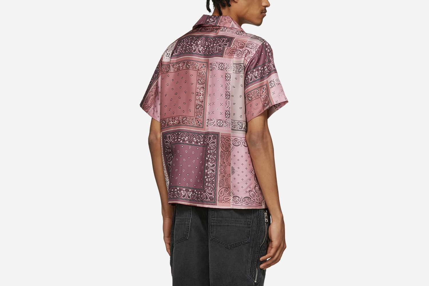 Silk Bandana Reconstructed Shirt