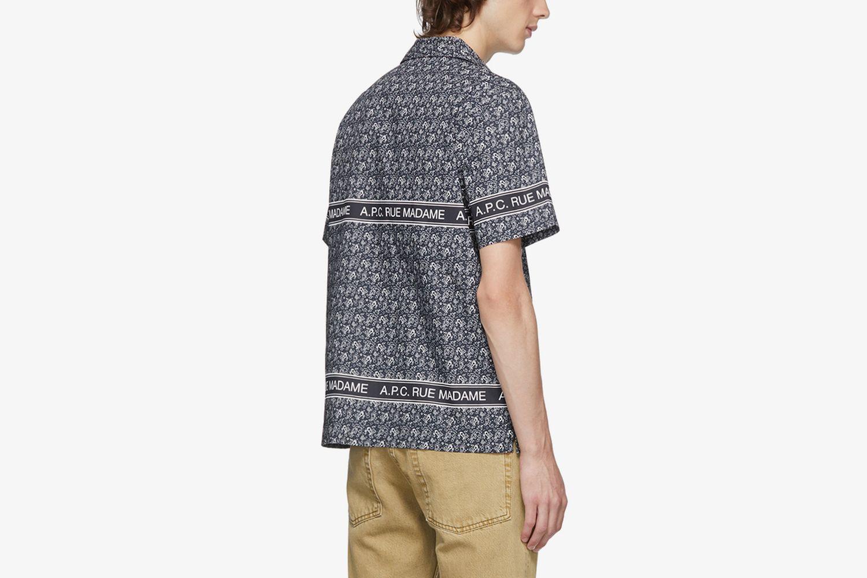 Poplin Paisley Shirt