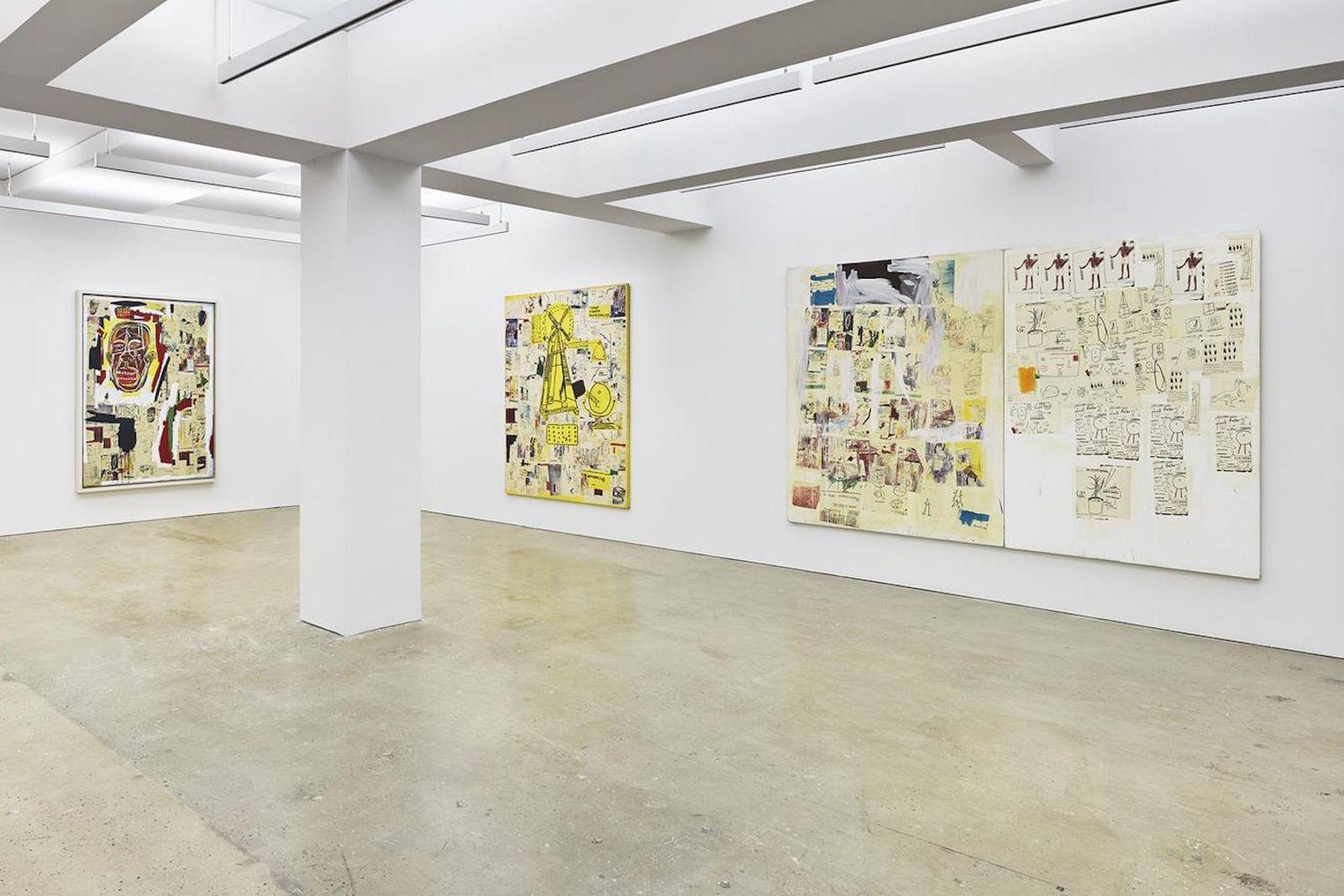 jean michel basquiat xerox exhibit nahmad contemporary Jean-Michel Basquiat Xerox