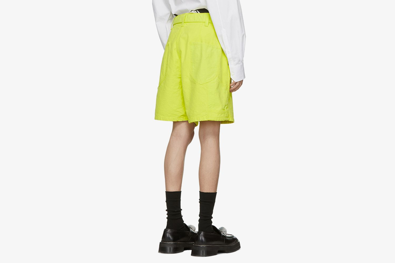 Silk Duck Shorts