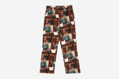 Fawna Corduroy Printed Pant