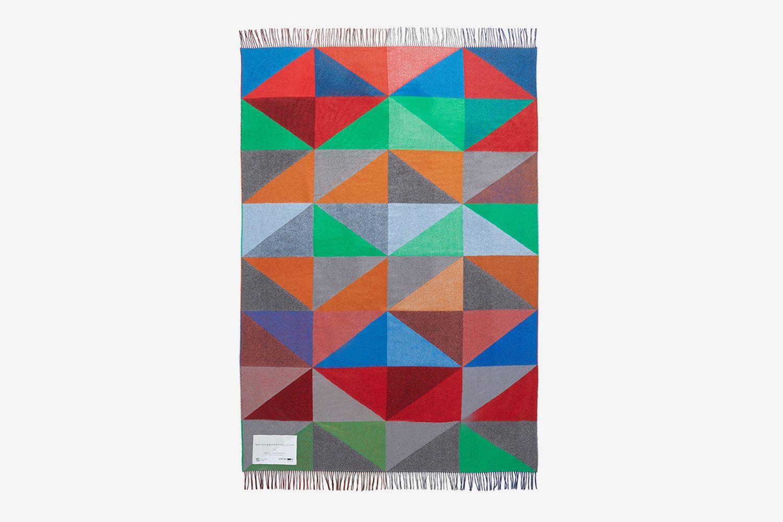 Geometric-Jacquard Blanket