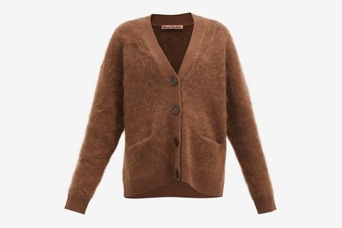 Rives Mohair-Blend Cardigan
