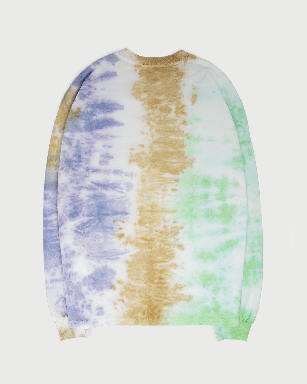 Aries - Ripple Tie Dye LS Tee Multicolor - Image 3