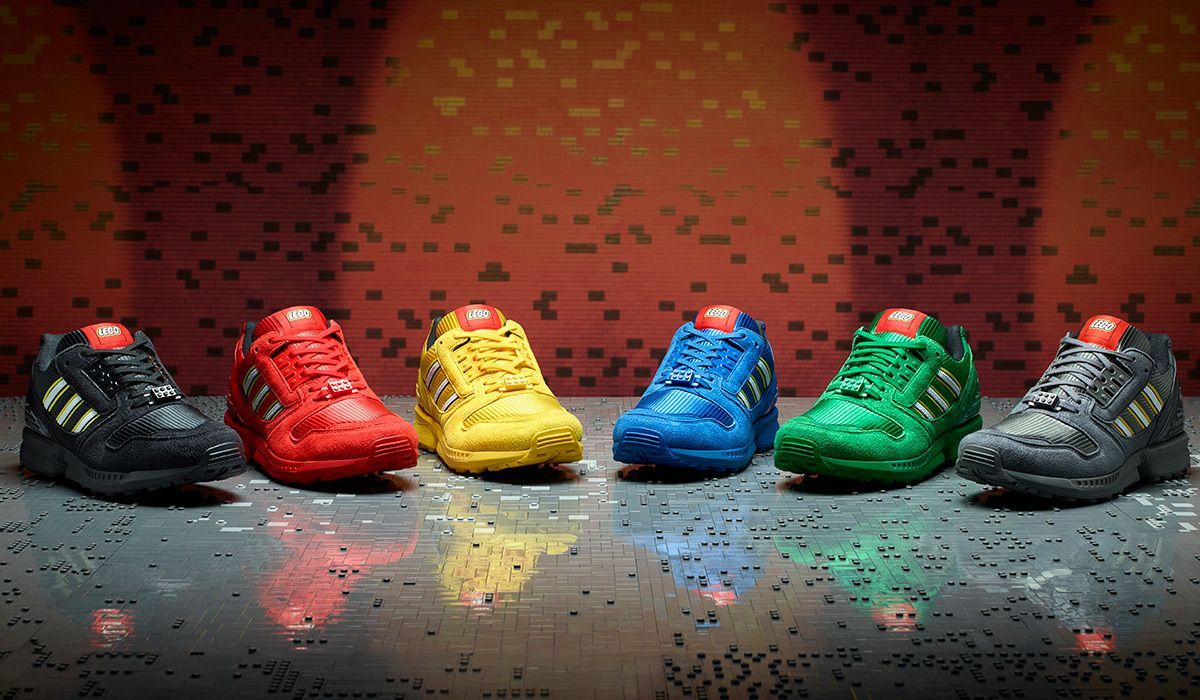 """Our Inner Child Wants Every Pair of the LEGO x adidas ZX 8000 """"Bricks"""" 3"""