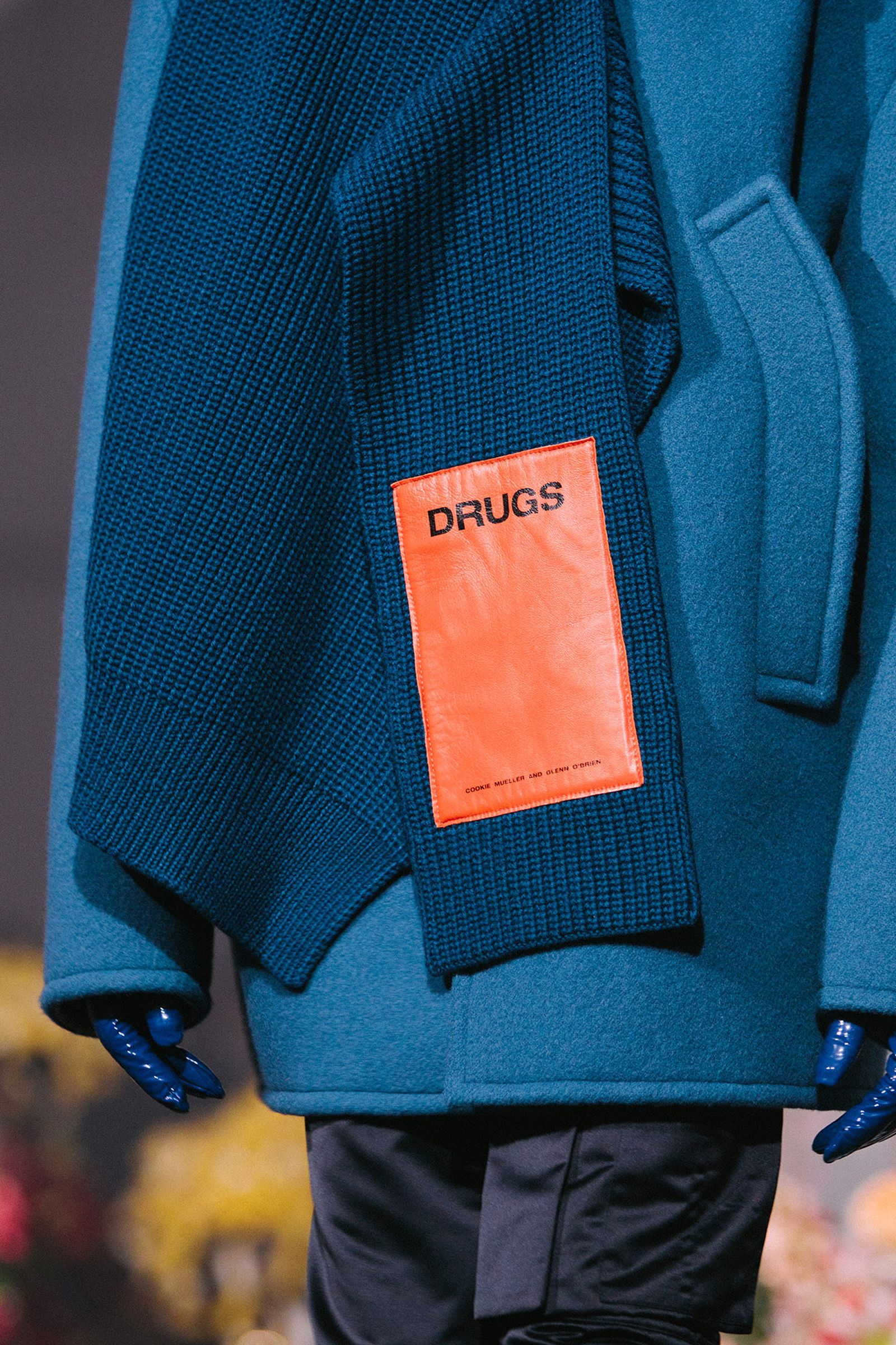 Raf Simons Uses Fashion To Comment On Designer Drugs