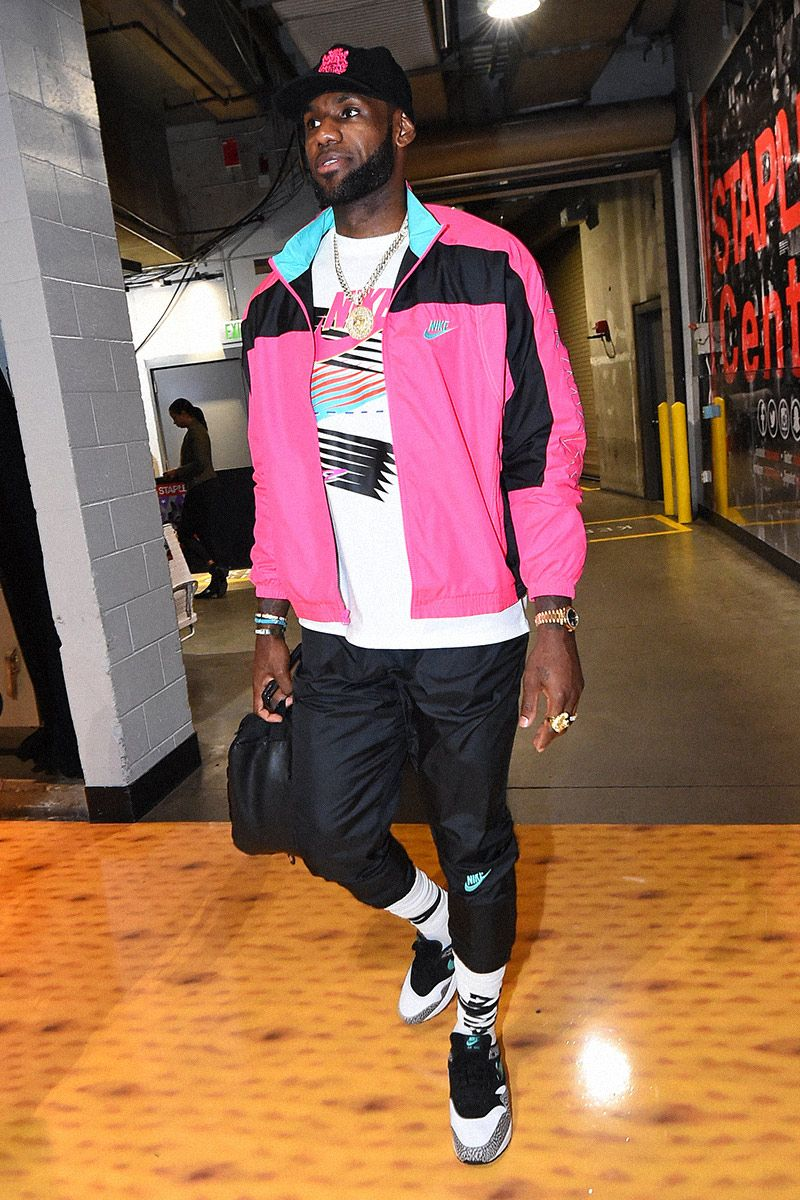 Lebron James' Best On & Off Court Sneaker Moments 20