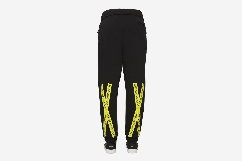 Fire Line Tape pants
