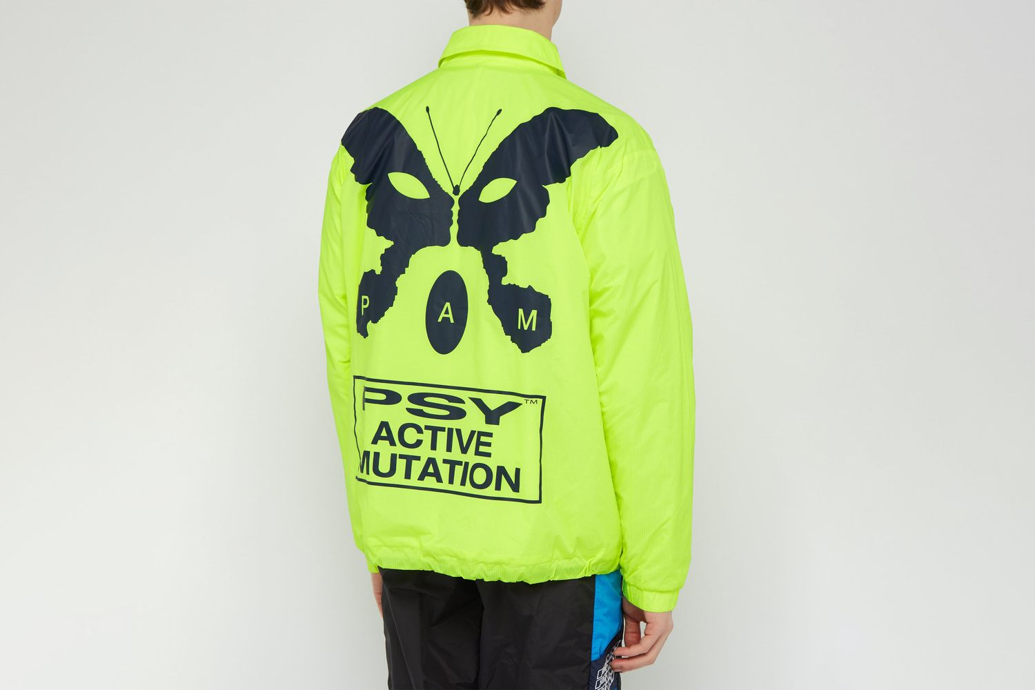 Alien Morphosis-print Technical Jacket