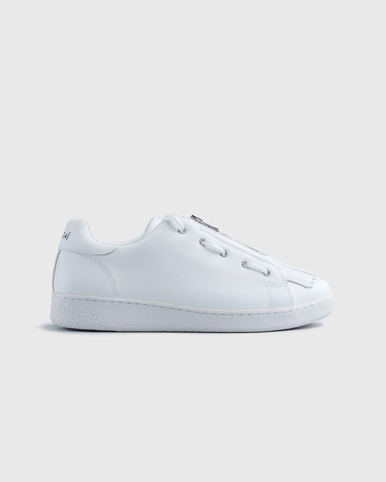 A.P.C. x Sacai — Minimal Sneaker White