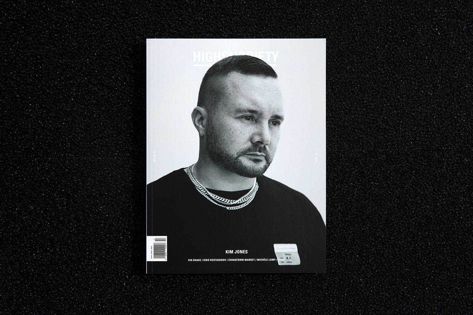 kim jones highsnobiety issue 17 dior highsnobiety magazine