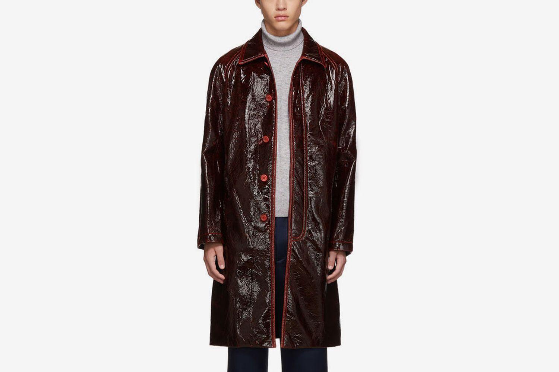 Laquered Raglan Blaine Coat