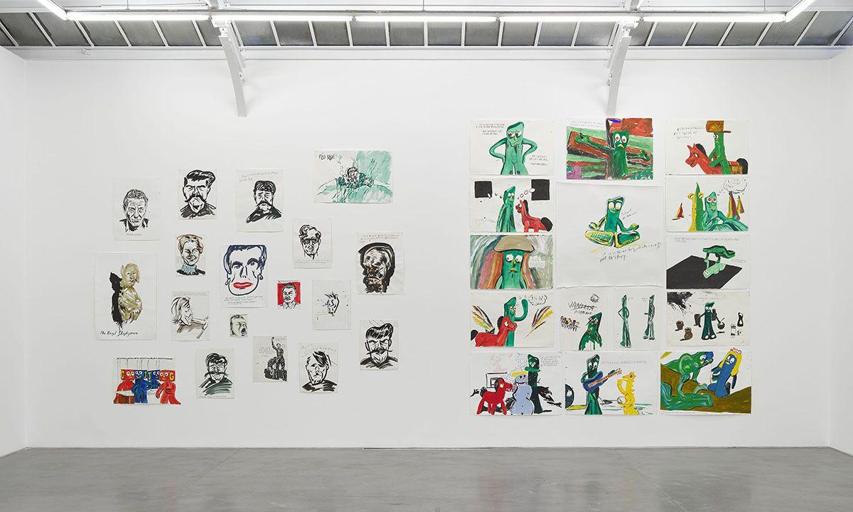 David Zwirner's Paris Gallery Opens With Raymond Pettibon Exhibition