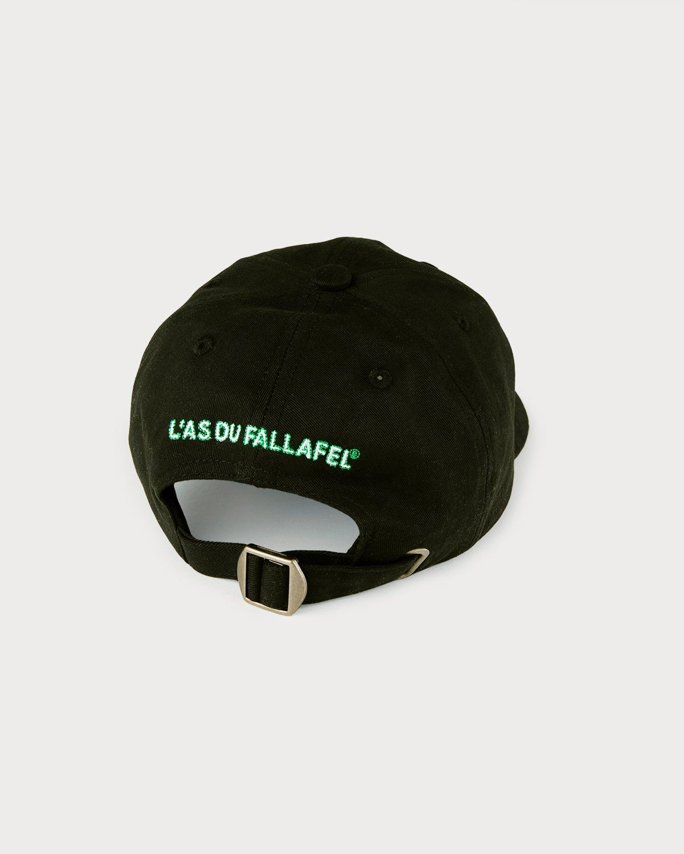Highsnobiety x L'AS du FALLAFEL - Logo Cap Black - Image 3