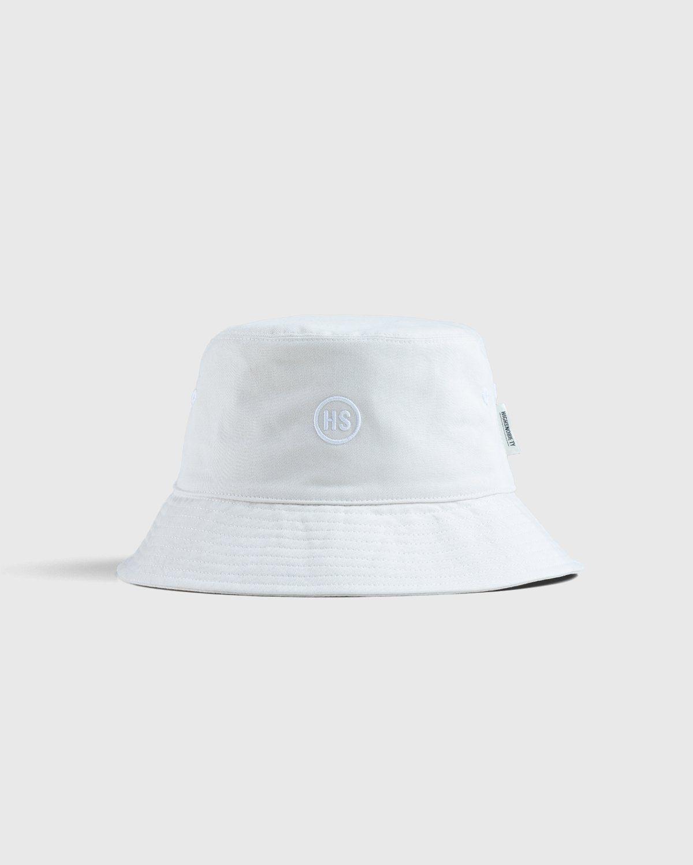 Highsnobiety – Bucket Hat White - Image 1