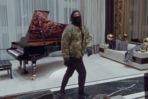 Drake dances through deserted mansion in latest music video