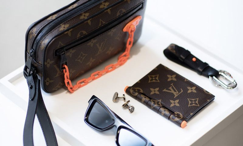 ff0ad7b7324a First Virgil Abloh-Designed Louis Vuitton Pieces Are Already Hitting  Flagship Stores
