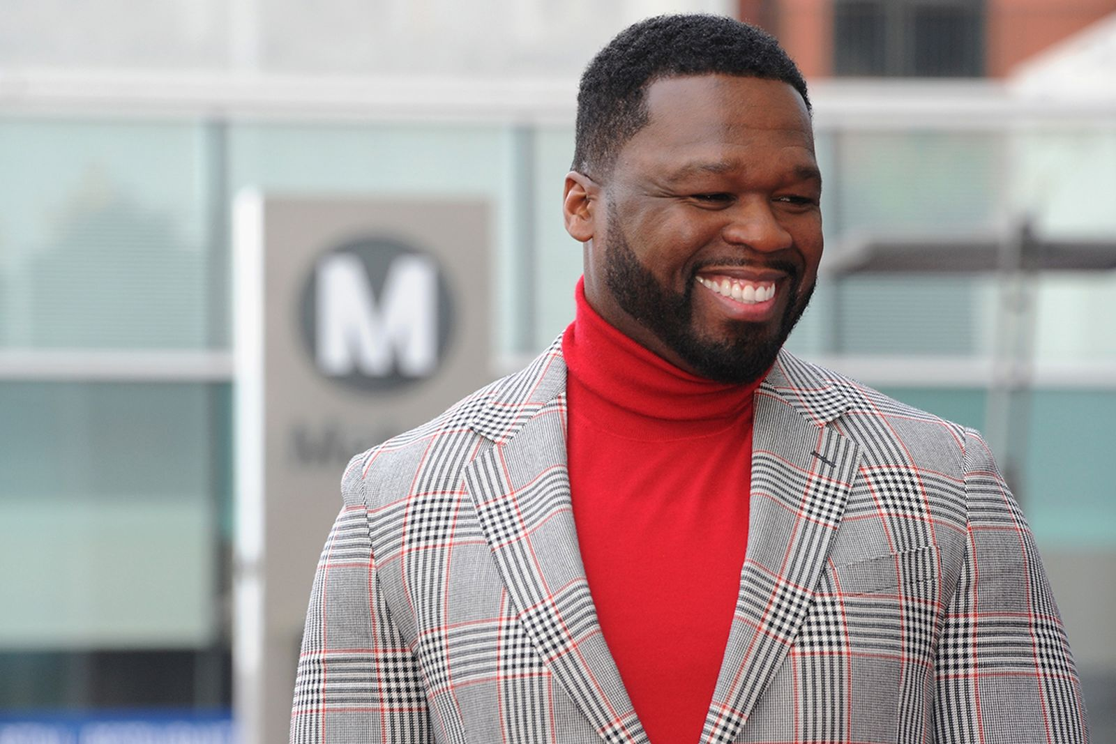 50 cent a ceremony honoring him with a star on the Hollywood Walk of Fame