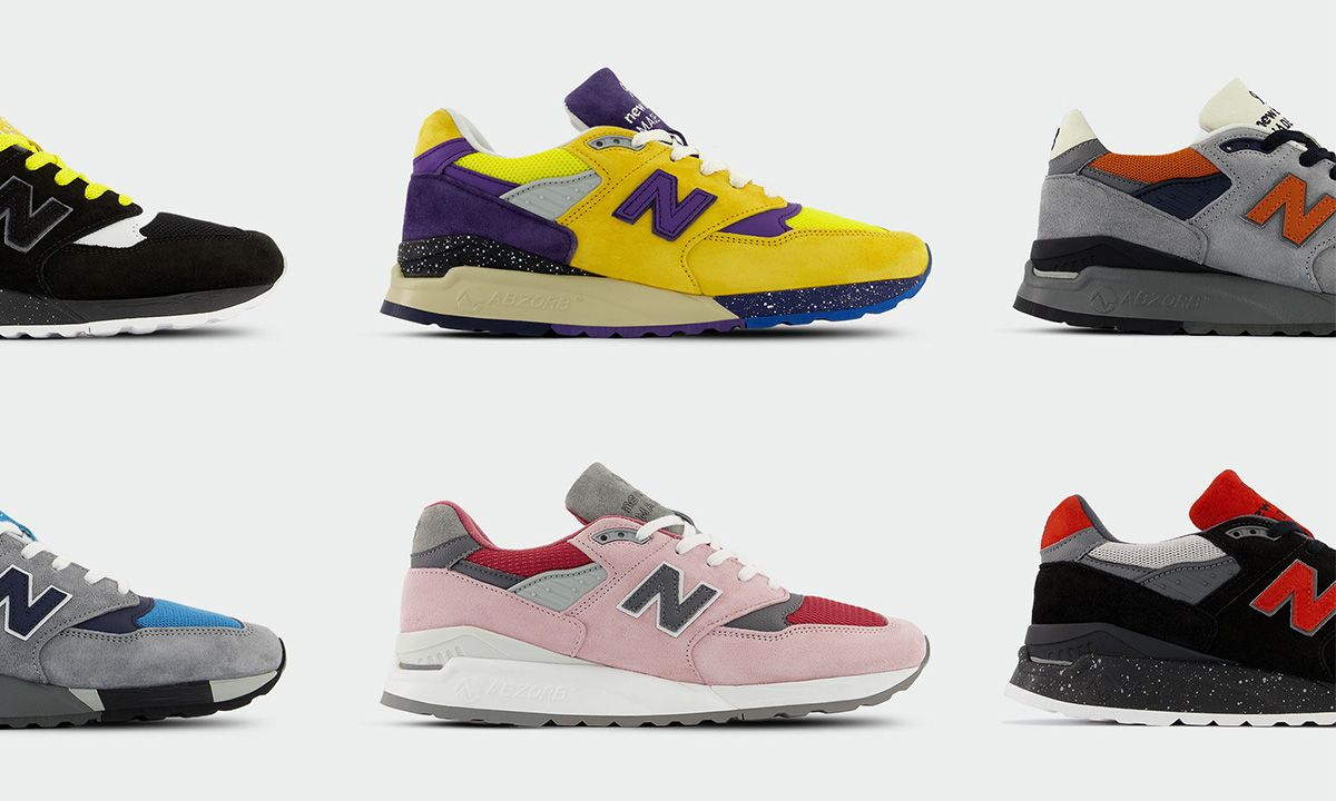 Shop the MADE Responsibly New Balance 998 Here