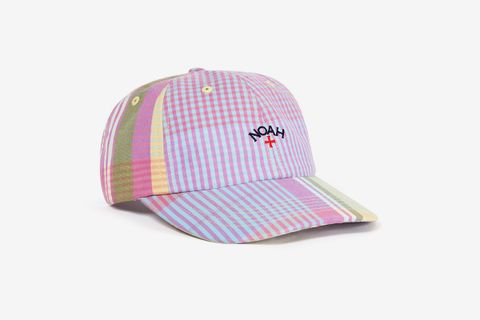 Core Logo Plaid 6-Panel