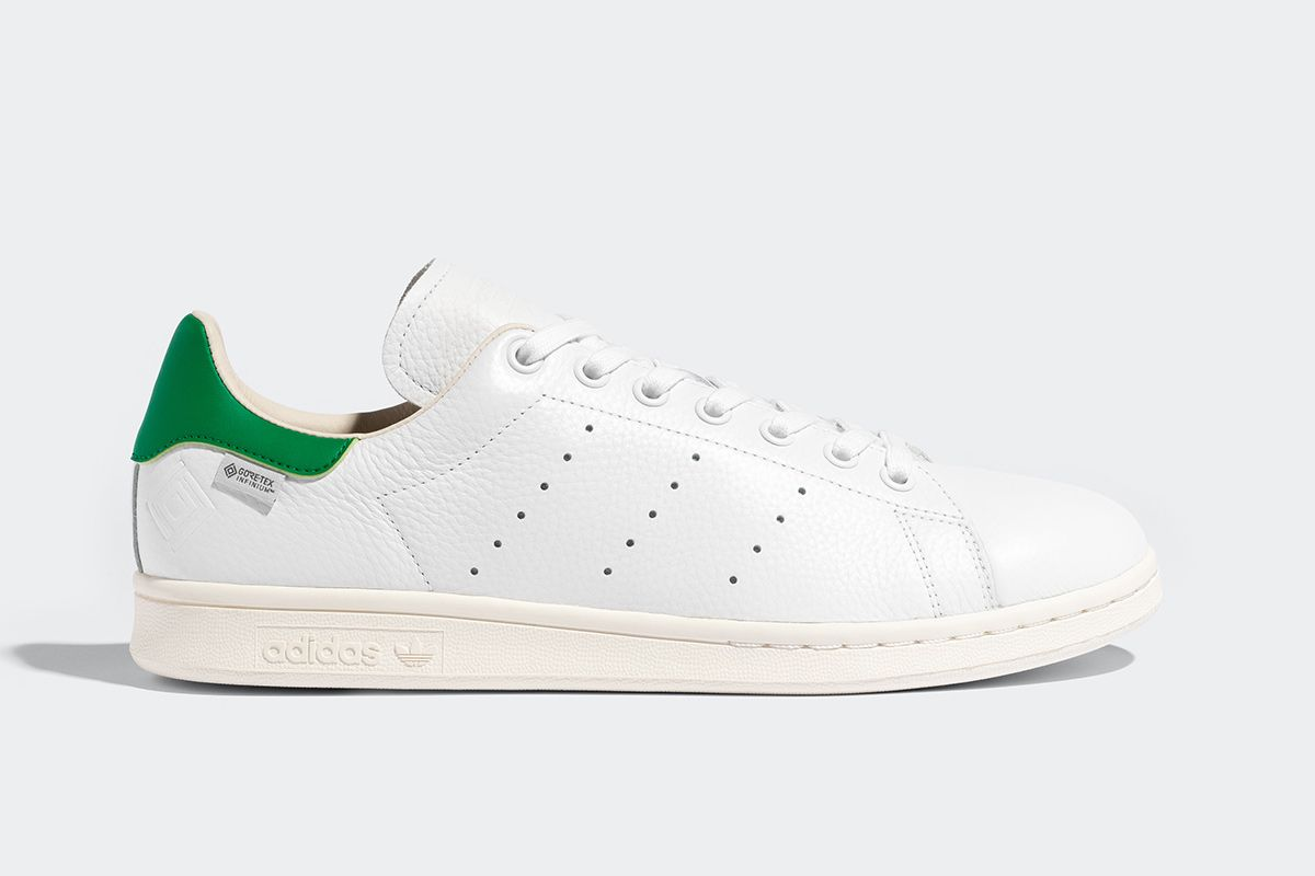 The adidas Stan Smith Gets Outfitted With GORE-TEX's Latest Weather-Proofing Tech 3