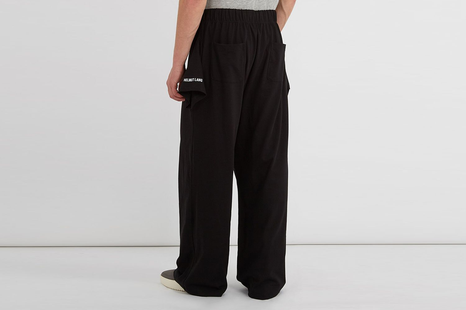 T-Shirt Logo Embroidered Pants