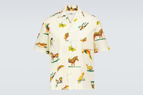 Wallpaper Short Sleeve Shirt