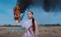 "Charli XCX Is on Fire in New Music Video ""White Mercedes"""
