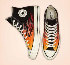 converse platform flame