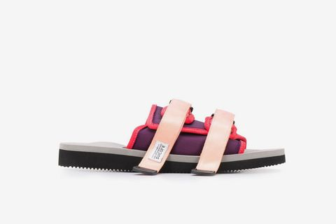 Double Strap Fastened Slides