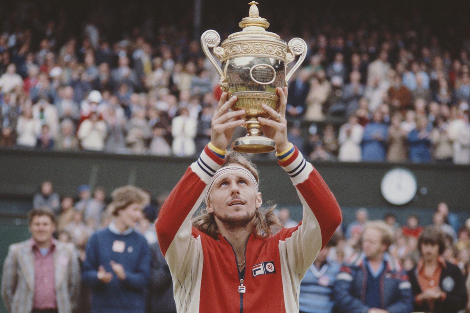 Bjorn Borg wins Wimbledon, 1978