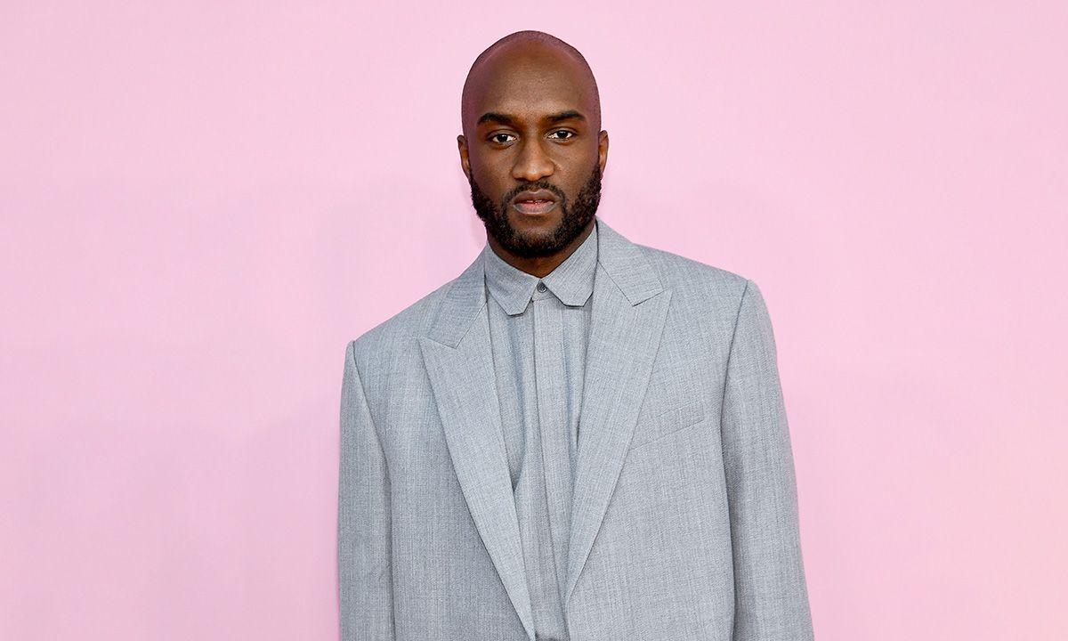 Virgil Abloh Gray Suit