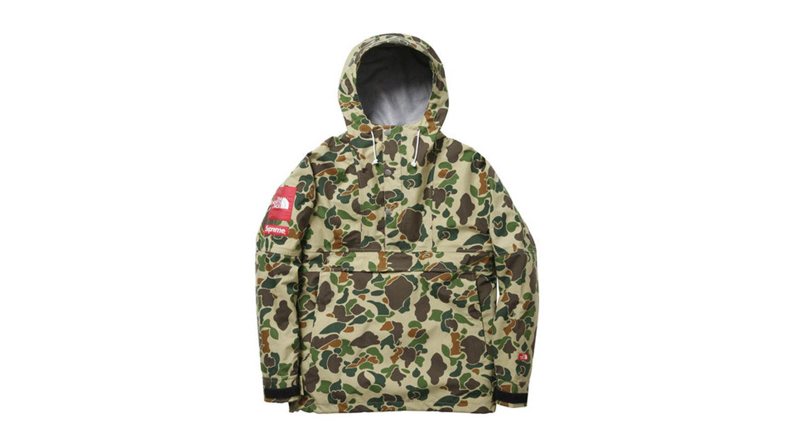 supreme x the north face history ss10