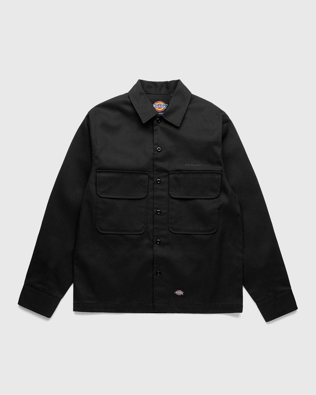 Highsnobiety x Dickies – Service Shirt Black - Image 1