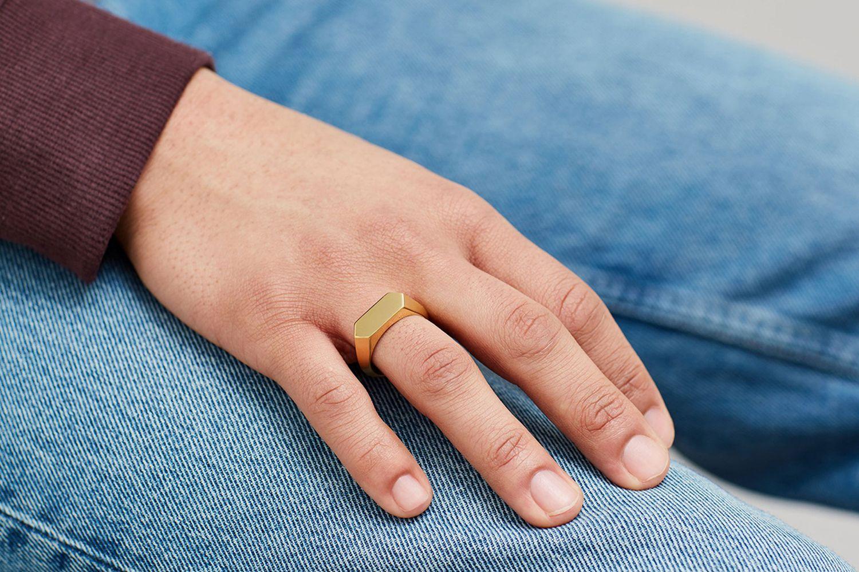 Hex Signet Ring