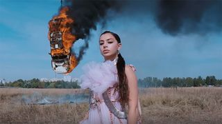 "Charli XCX ""White Mercedes"" video"
