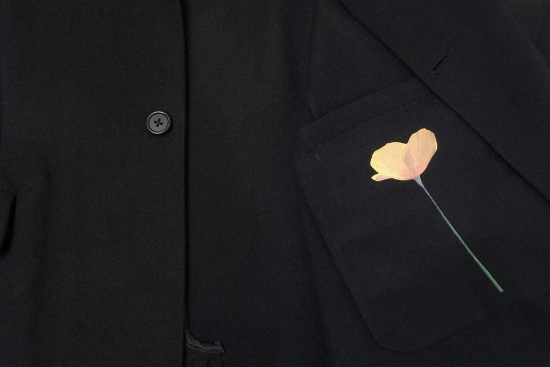 Single Poppy Overcoat