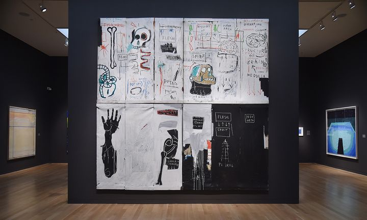Jean-Michel Basquiat painting