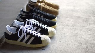 new styles e801d aa1cc adidas Originals for mita sneakers Holiday 2012 Vintage Pack – Campus 80s,  Superstar 80s   Tobacco