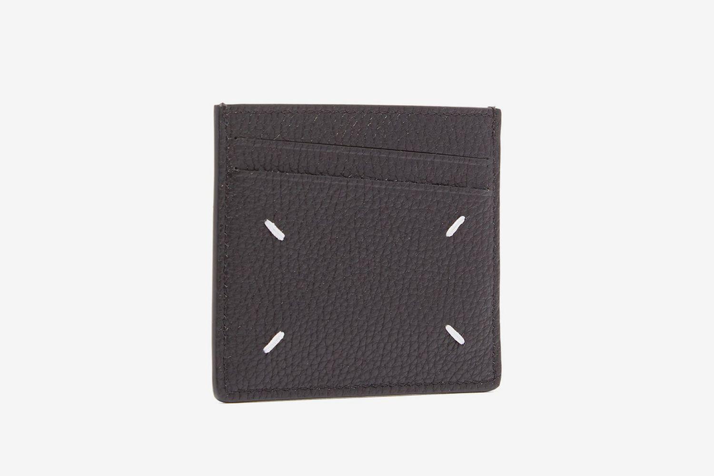 Four Stitch Leather Cardholder