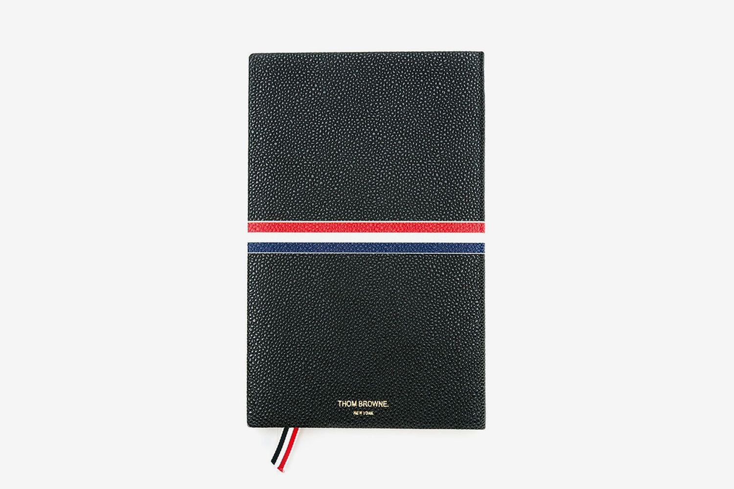 Large Signature Stripes Notebook